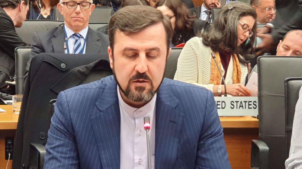 Iran at IAEA board meeting: US should drop addiction to sanctions