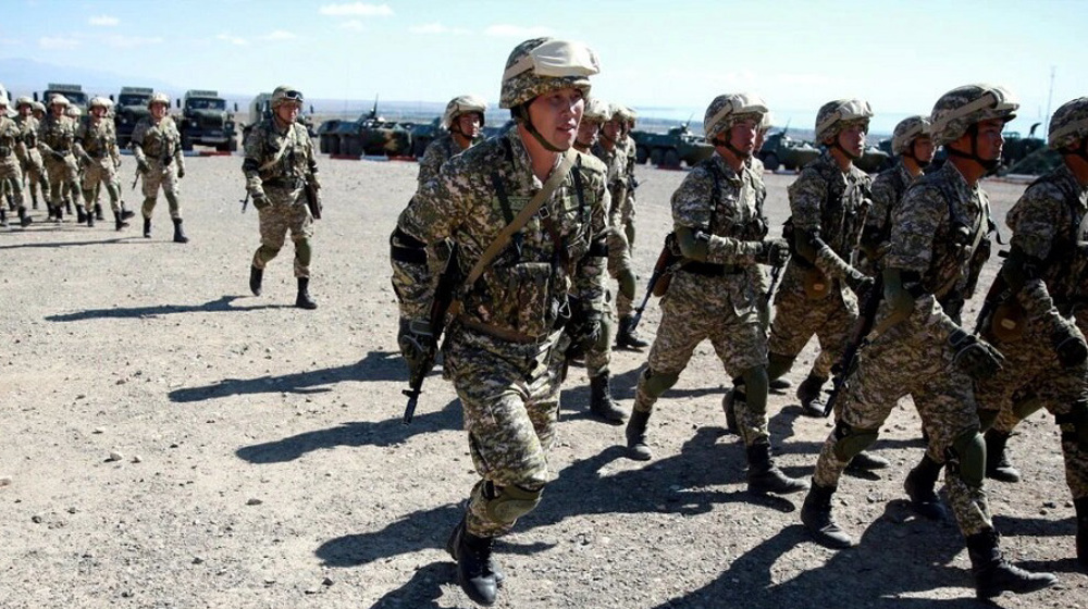 Russia-led bloc to hold military exercises on Afghan border