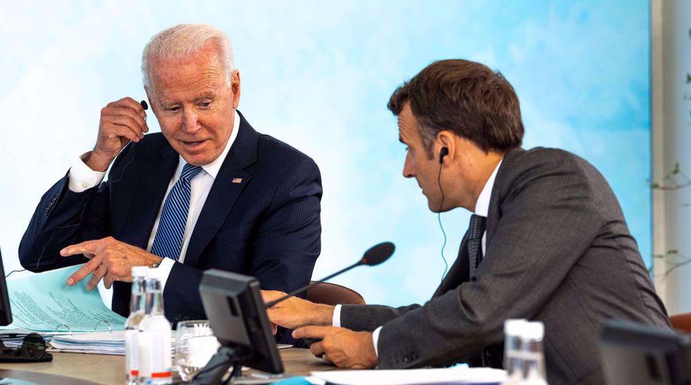 Biden stabs France in the back on Australia nuclear deal: FM
