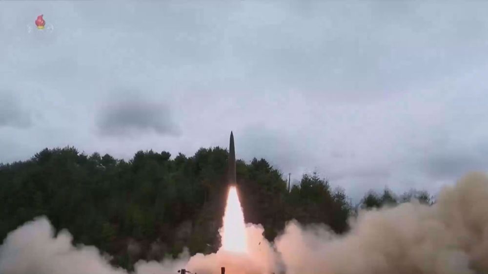 North Korea shows off new railway-borne missile system