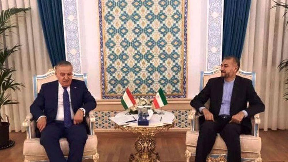 Iran, Tajikistan FMs urge formation of inclusive govt. in Afghanistan