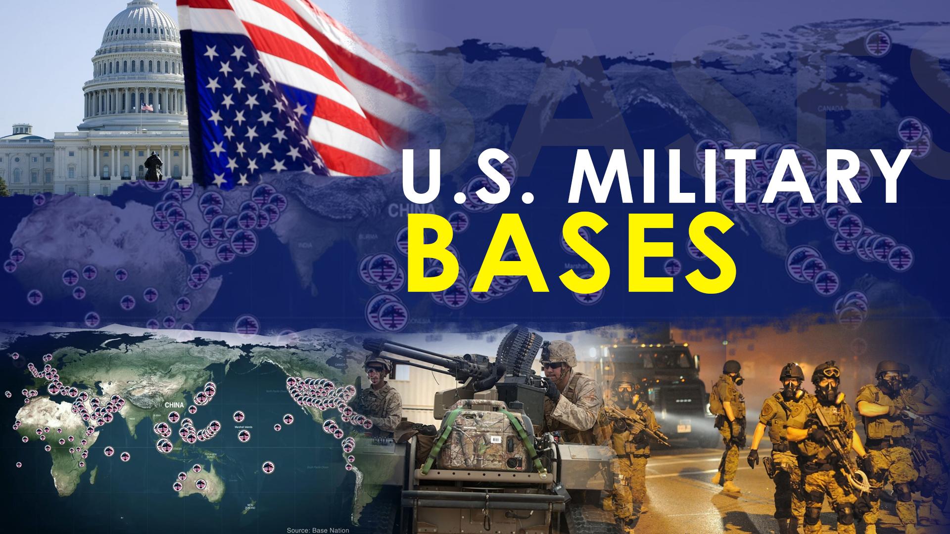 US military bases worldwide
