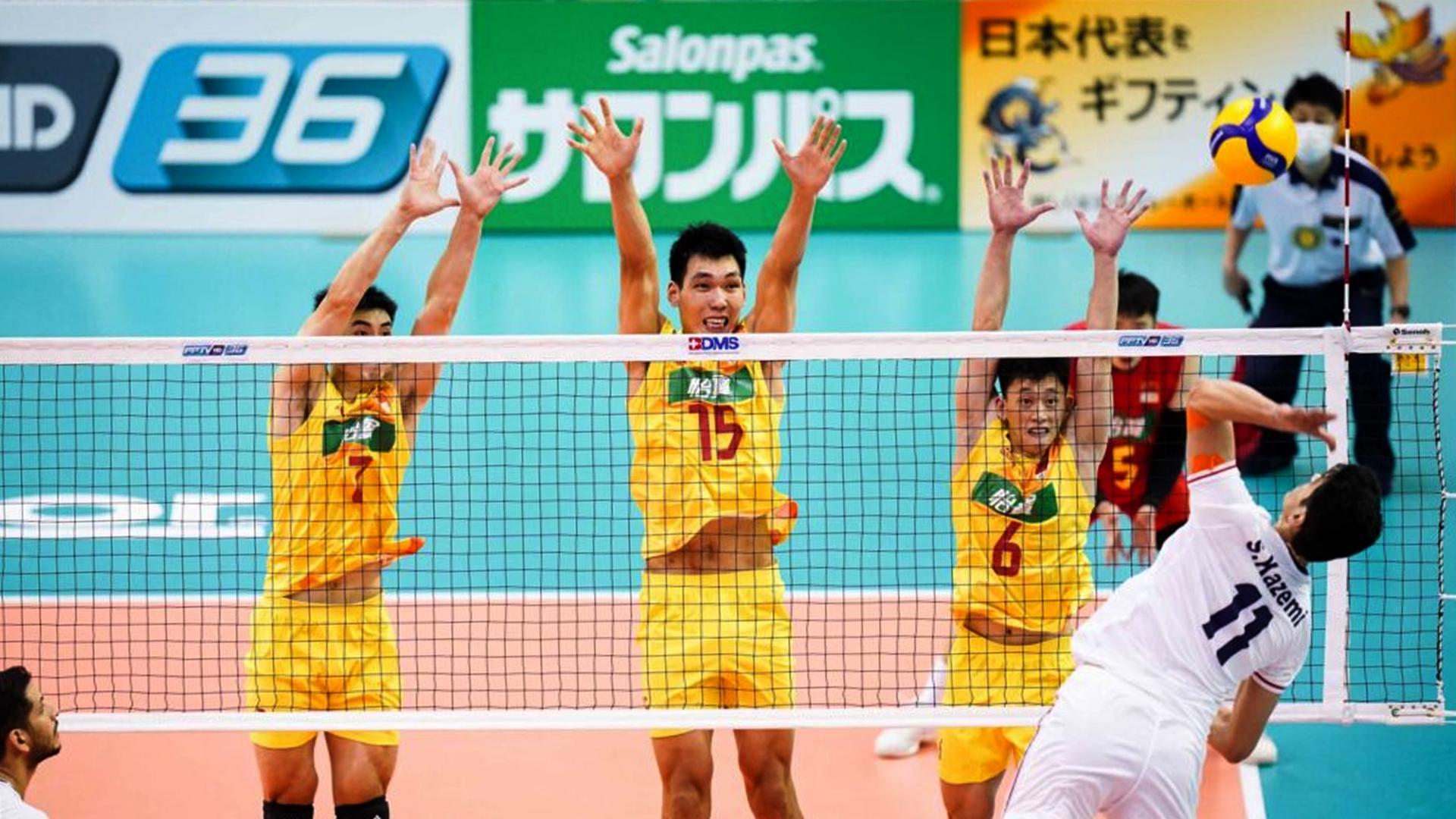 Asian Volleyball C'Ship: Iran top China 3-1, reach final