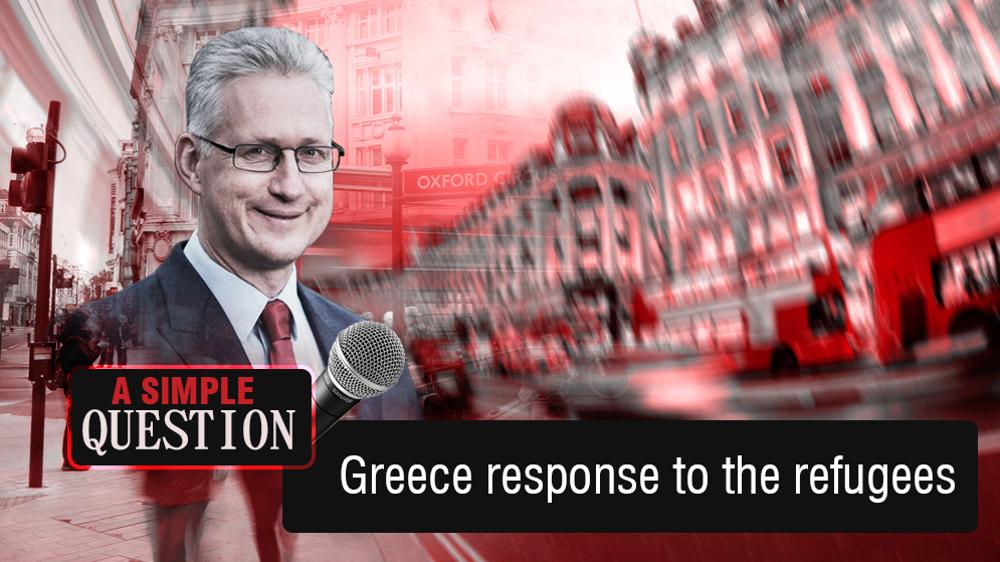 Greece response to refugees