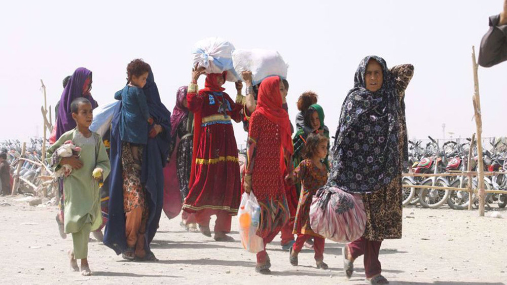 UN warns of refugee influx if Taliban govt. collapses