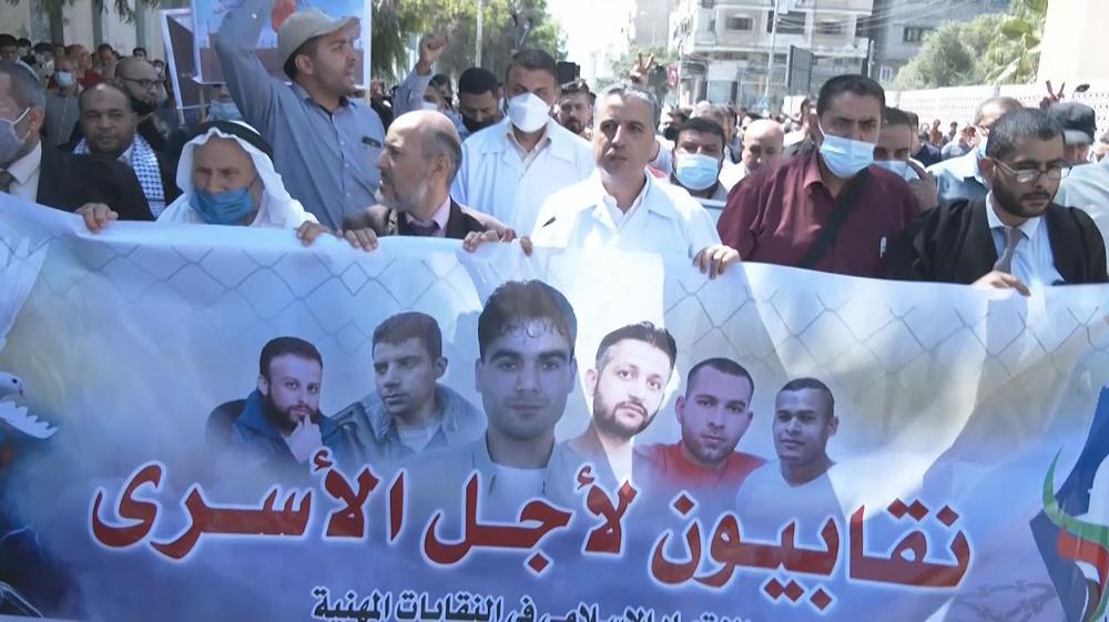Palestinians urge Israel to end violating inmates' basic rights
