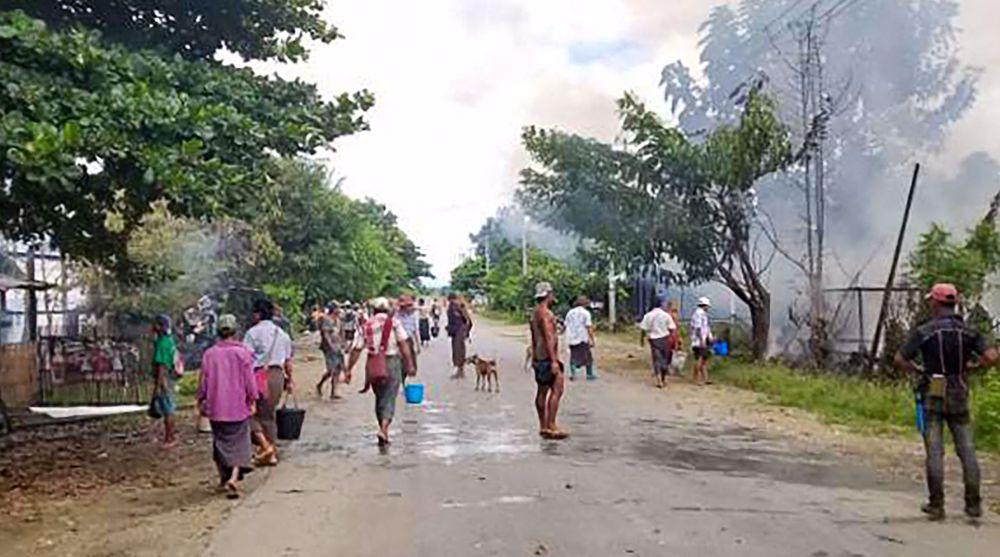 Deadly gunfight erupts after Myanmar junta convoy hit by roadside bomb