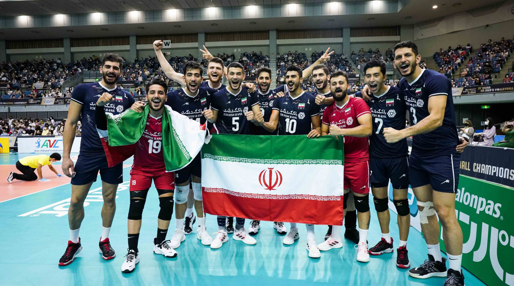 Iran rout Japan to clinch Asian Men's Volleyball Championship title
