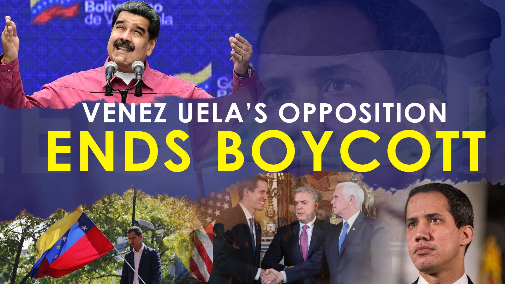 Venezuelan opposition ends political boycott