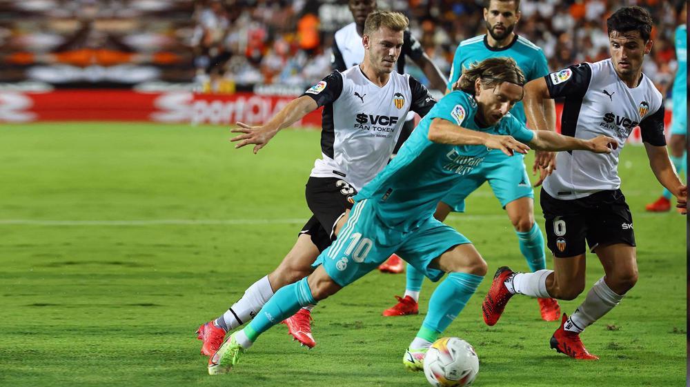 Valencia 1-2 Real Madrid: Spanish La Liga