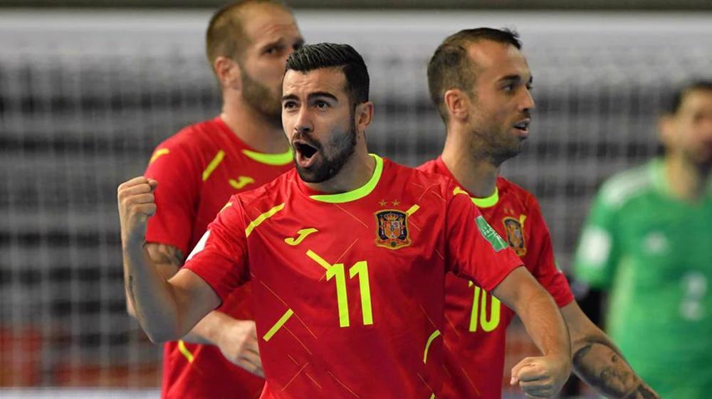 FIFA Futsal World Cup: Spain 4-1 Angola