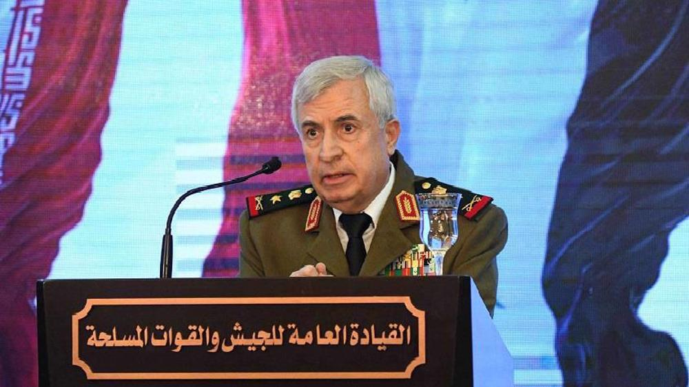 Syrian defense chief makes first visit to Jordan since war on Syria