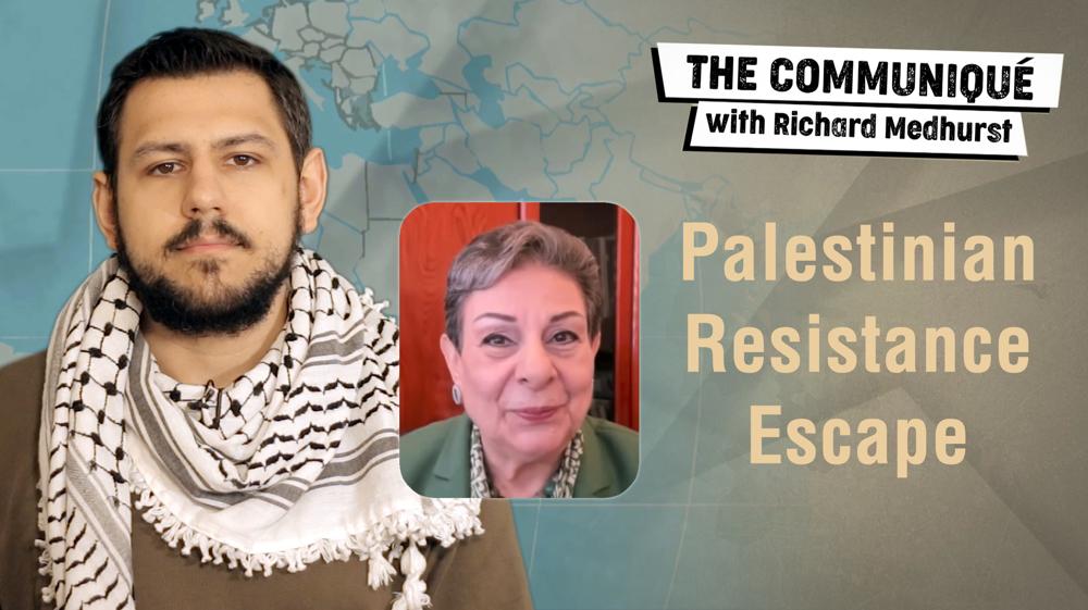 Palestinian resistance escape