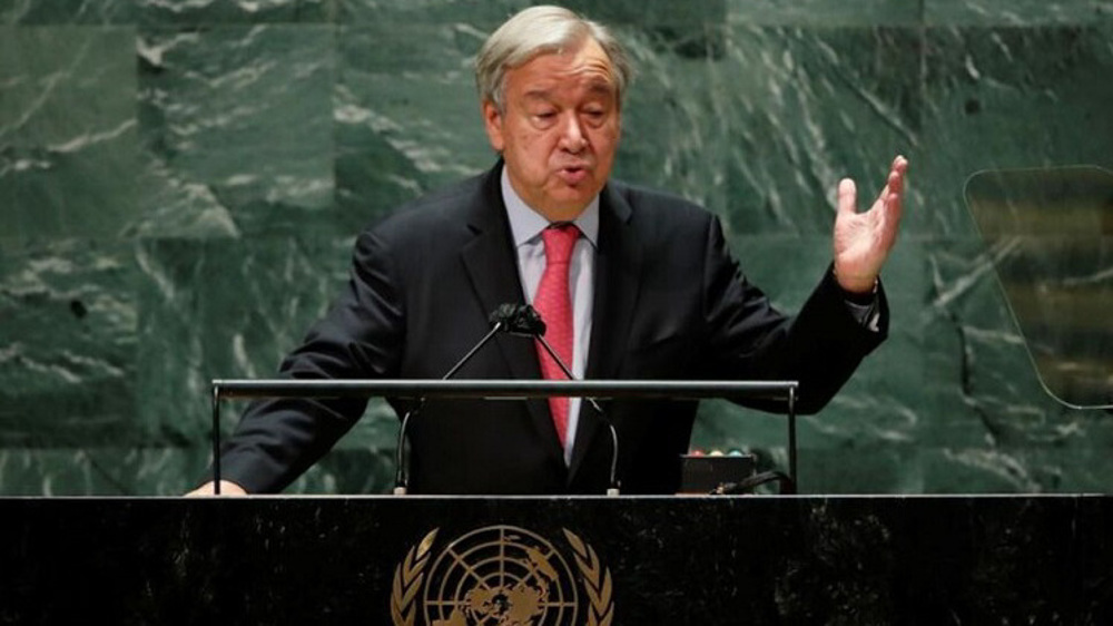 'World on edge of an abyss,' UN Secretary General Guterres warns