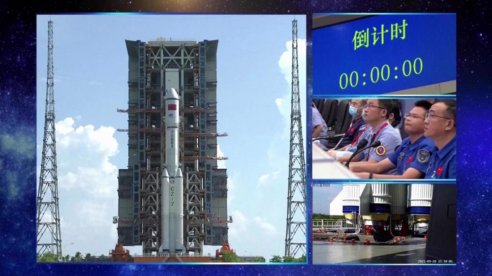 China launches Tianzhou-3 cargo craft for space station supplies