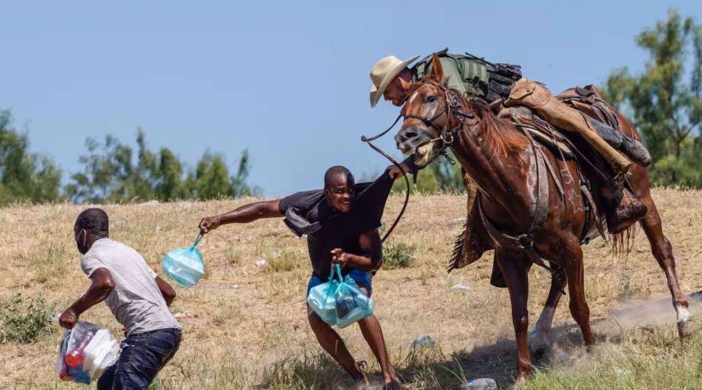 Kamala Harris condemns US treatment of Haitian migrants