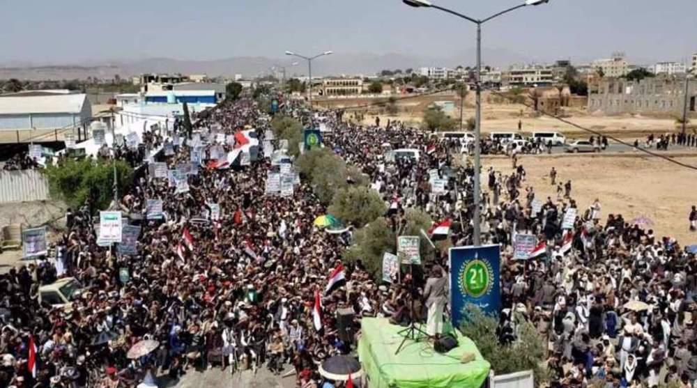 Yemenis mark anniversary of 21st September revolution