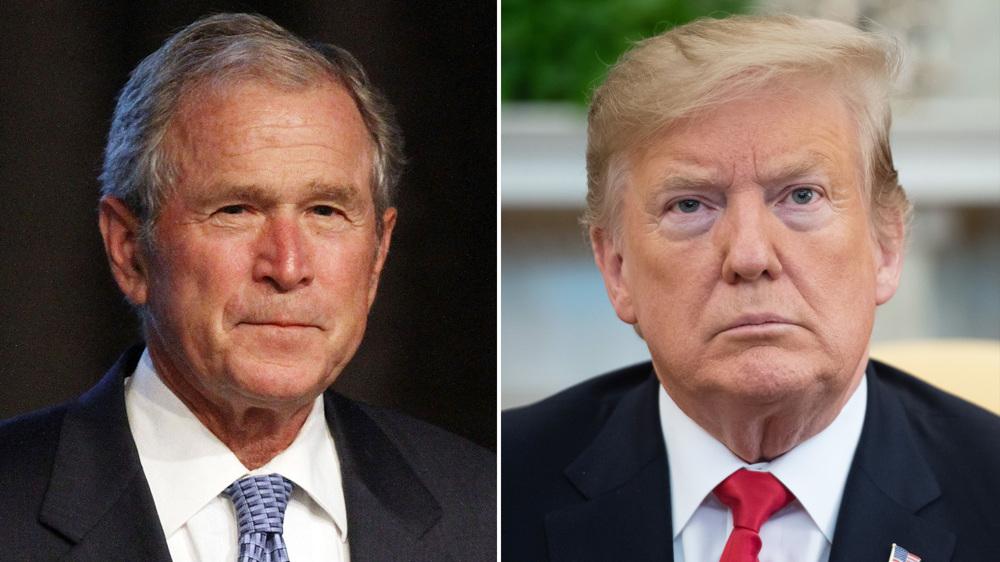 Bush, Trump lock horns over Liz Cheney