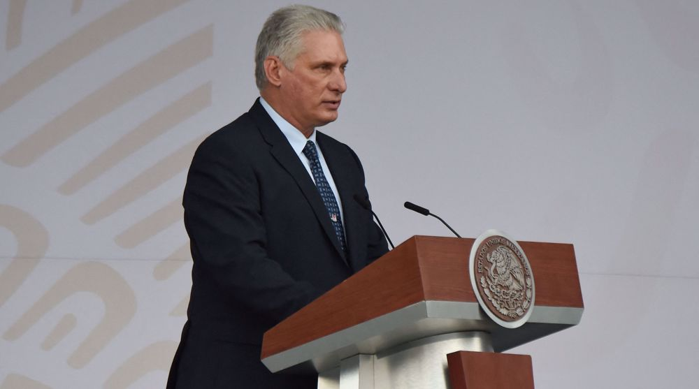 Cuba president blasts US foreign policy, Afghanistan destruction
