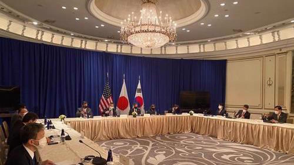 Top diplomats from US, South Korea, Japan meet on North Korea