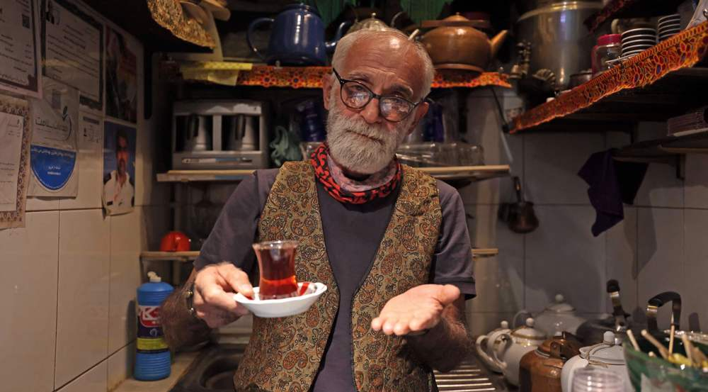 Oldest, tiniest teahouse in Tehran brews up love for customers