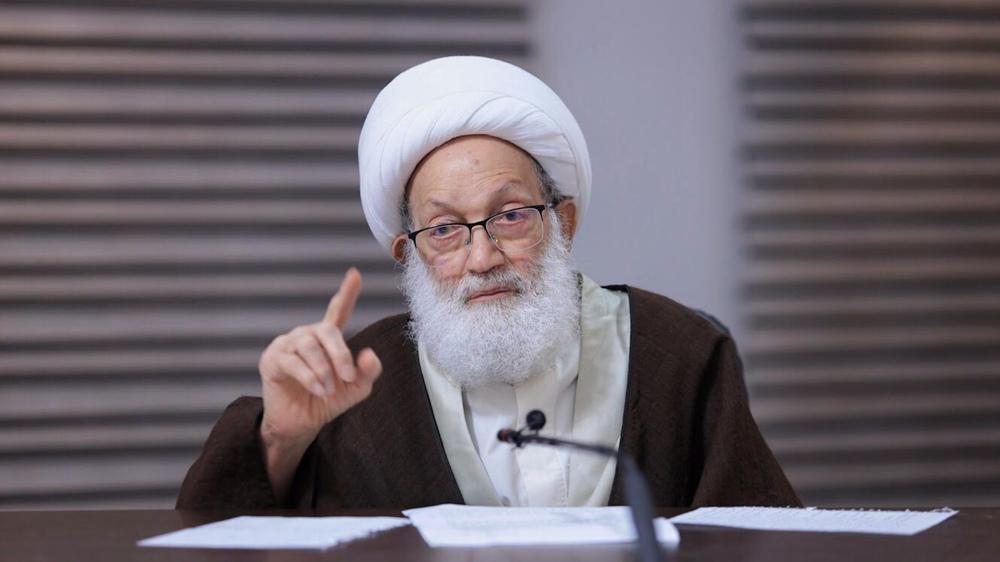 Sheikh Qassim calls for free referendum in Bahrain