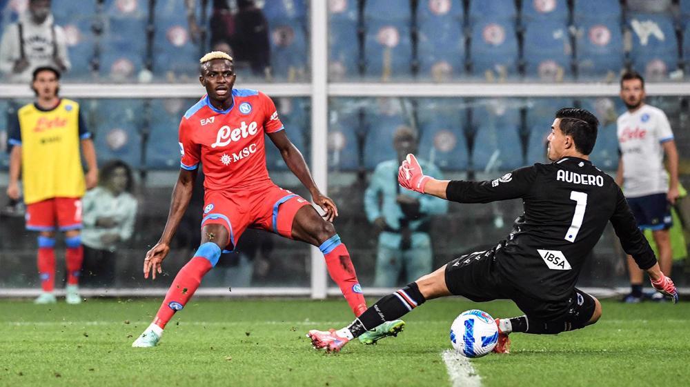 Serie A: Sampdoria 0-4 Napoli
