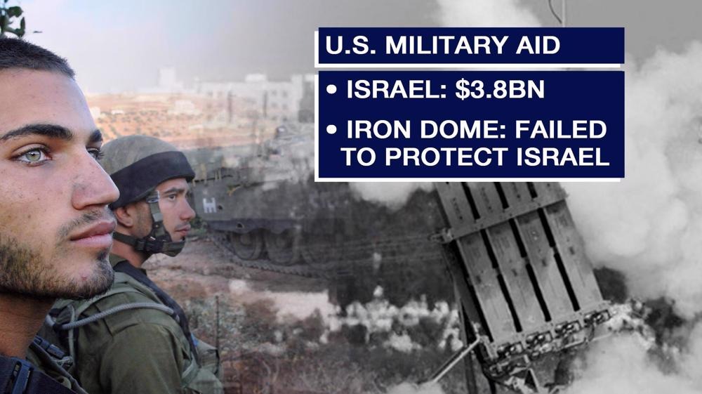 US Israeli dome funding, but what about Palestinian human rights?