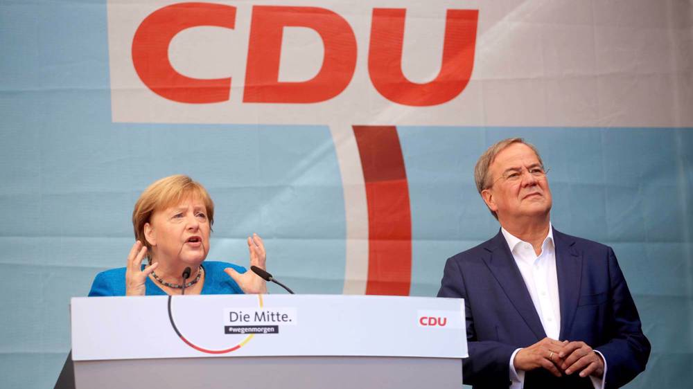 Preliminary poll results show SPD takes narrow lead in post-Merkel election