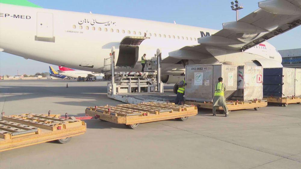 Third Iranian plane carrying humanitarian aid lands in Kabul
