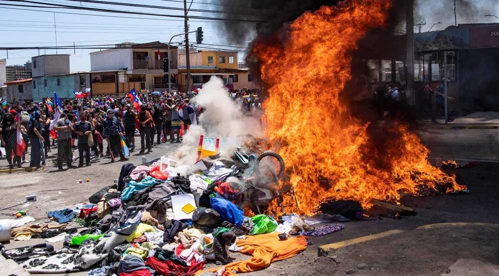 UN condemns xenophobic attacks against Venezuelan migrants in Chile