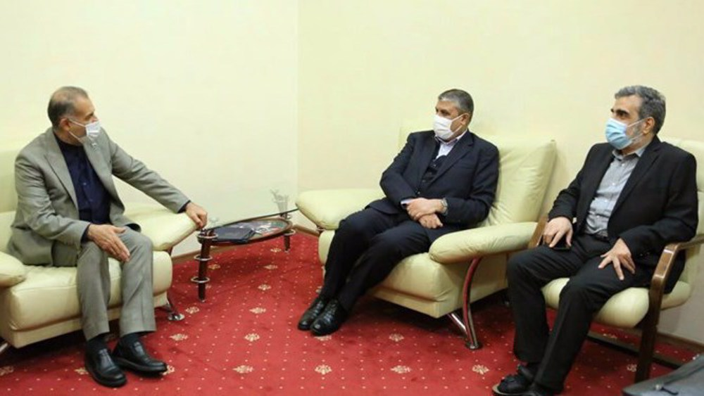 Iran nuclear chief in Moscow for talks with Rosatom officials