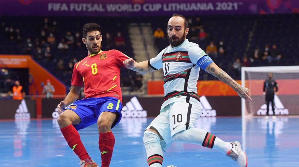 Futsal World Cup: Portugal beat Spain 4-2, reach semis