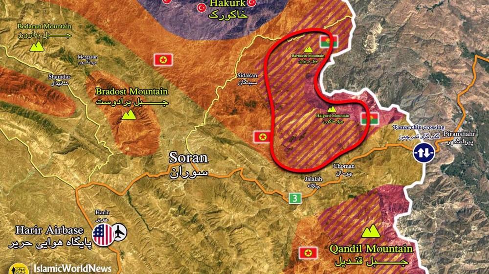 "Erbil : base US ""criblée"" de ""missiles"".."