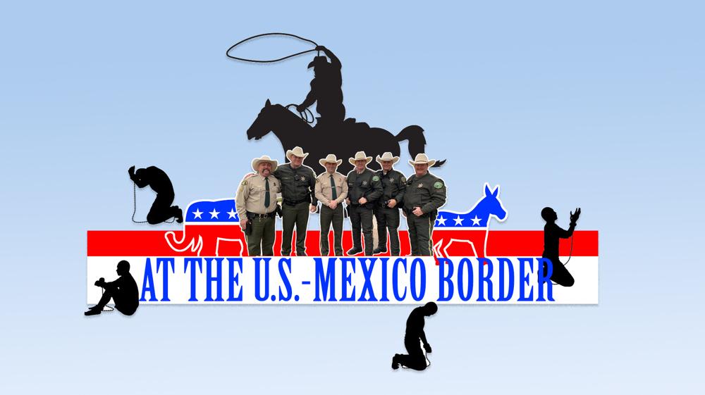 At the US-Mexico border