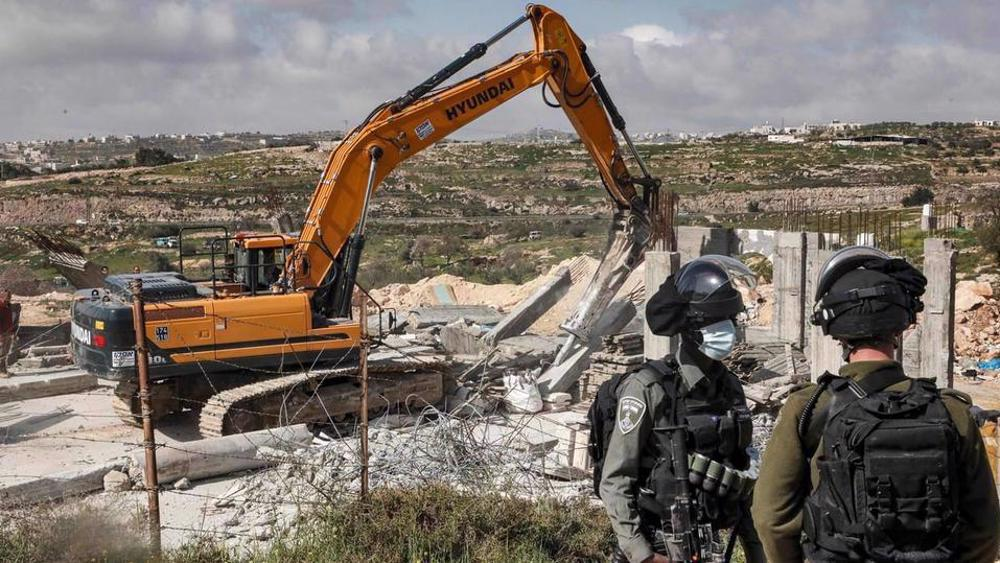 Palestine rejects Israel's 'settlement project' as colonization attempt