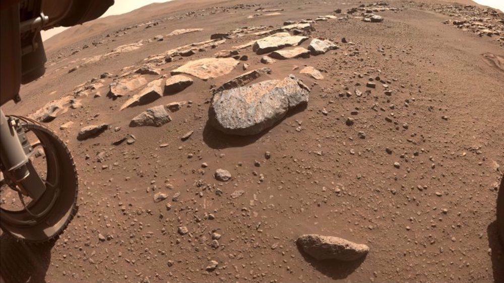 NASA confirms Perseverance Mars rover got its first piece of rock