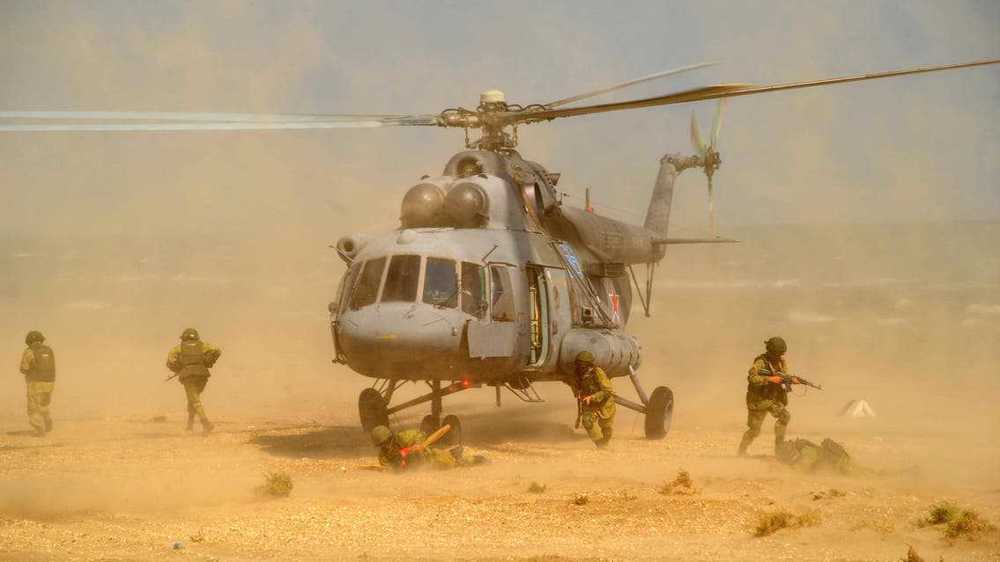 Russian, Syrian helicopter pilots hold first-ever joint drills in Syrian Desert