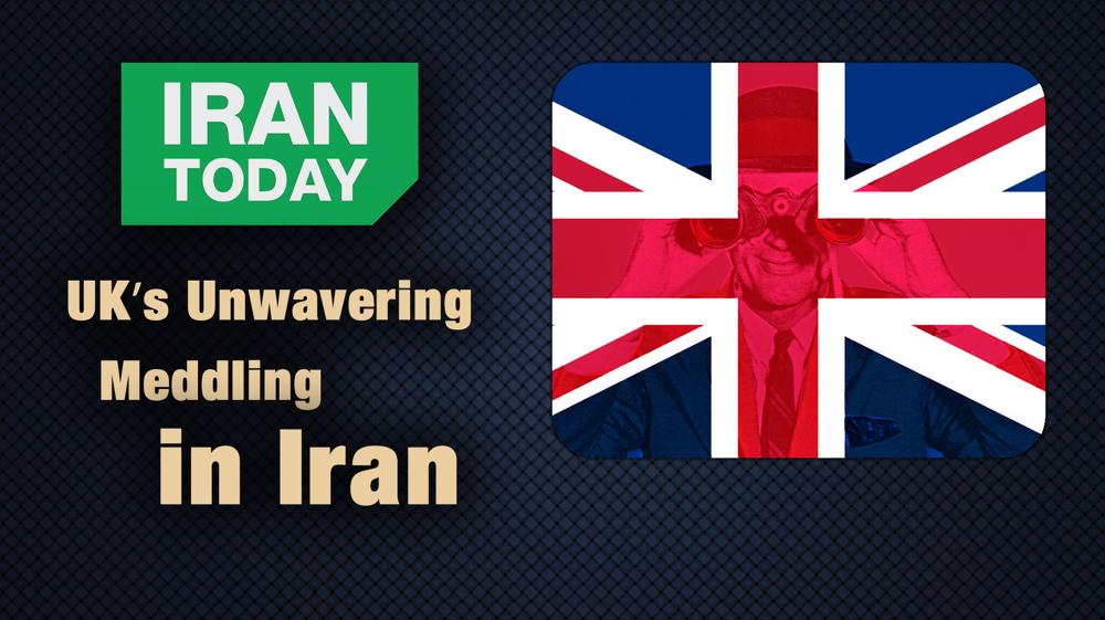 UK's unwavering meddling in Iran