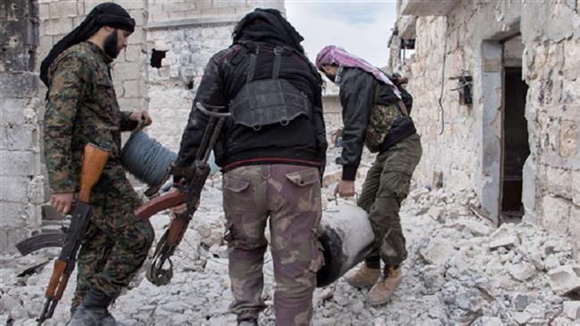 Militants lay down arms, join Syrian army