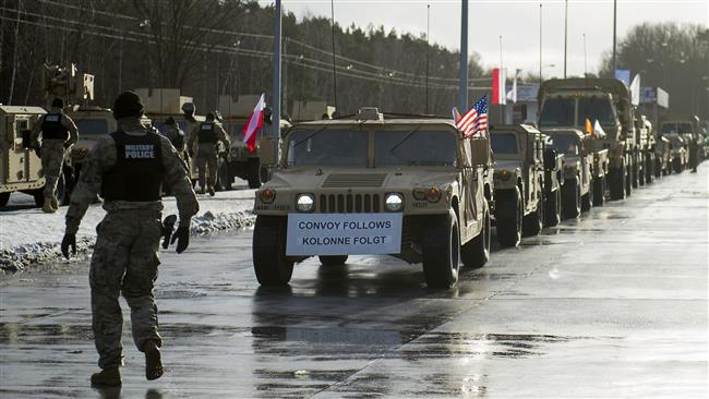 US troops enter Poland to counter Russia