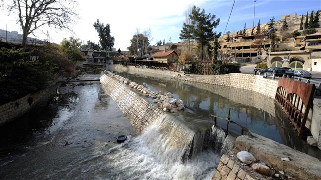 Israel attacks Syria after Damascus water secured
