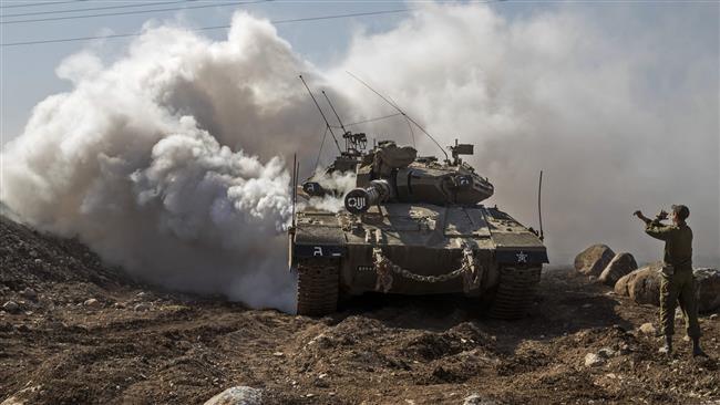Israeli tank shells besieged Gaza Strip