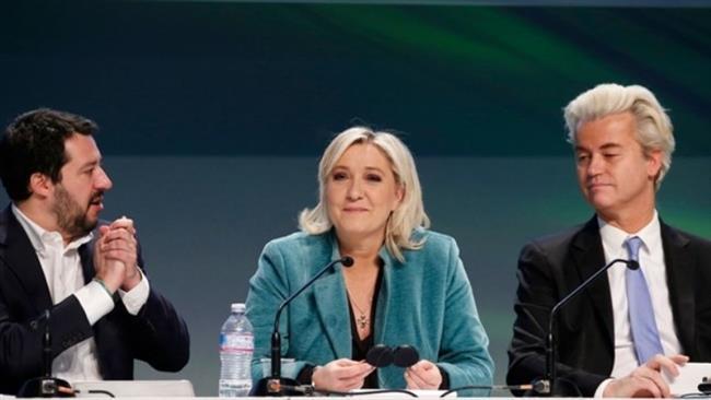 Far-right leaders meet to discuss EU break-up