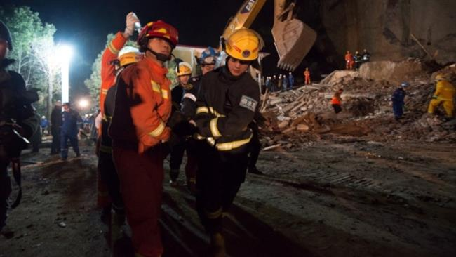 Trapped bodies in China landslide retrieved