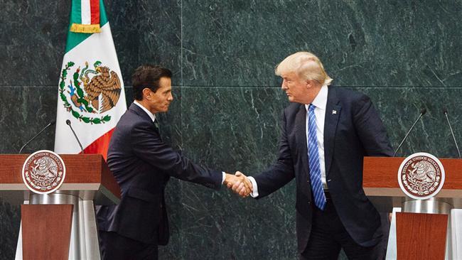 US, Mexican presidents de-escalate