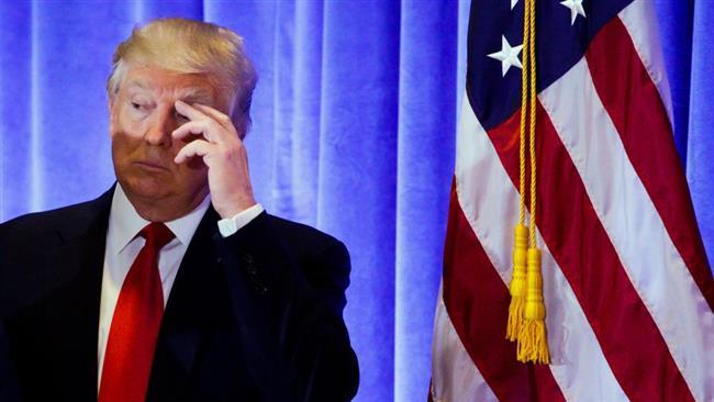 Iran has 'total disregard' for US, Trump says