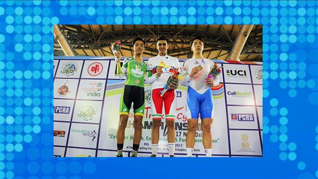Iran cyclists earn 3 medals at Asian championships