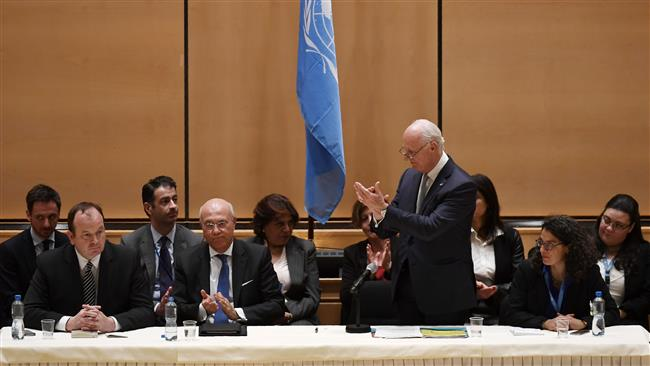 Intra-Syrian talks underway in Geneva