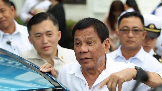Philippine President Duterte to recall police to drug war